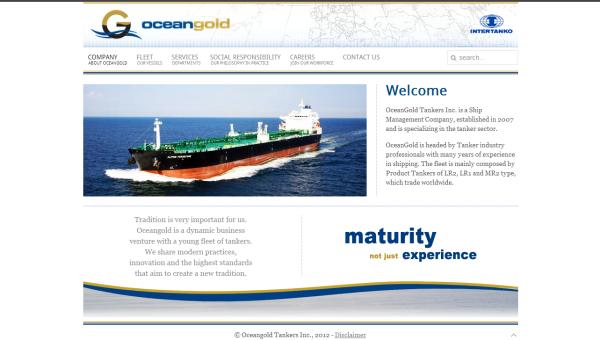 ocenagold-website